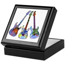 Wild Guitar Keepsake Box