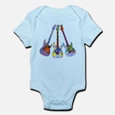Wild Guitar Infant Bodysuit