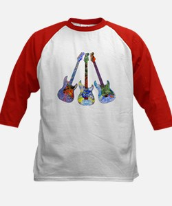 Wild Guitar Kids Baseball Jersey