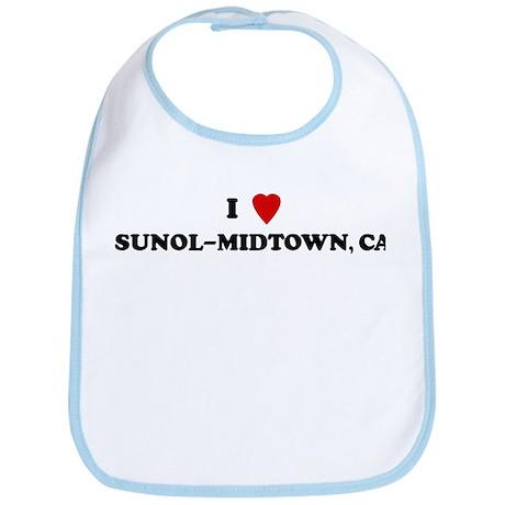 I Love SUNOL-MIDTOWN Bib
