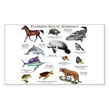 Florida State Animals Decal