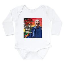 Howard Zinn Long Sleeve Infant Bodysuit