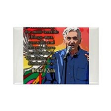 Howard Zinn Rectangle Magnet (10 pack)