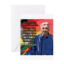 Howard Zinn Greeting Card