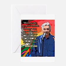 Howard Zinn Greeting Card