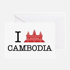 I Angkor (Love) Cambodia Greeting Card
