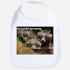 Anti-Fur Raccoon Dog pups Bib