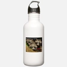 Anti-Fur Raccoon Dog pups Water Bottle