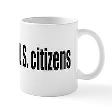 U.S. jobs for U.S. citizens Small Mug