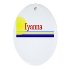 Iyanna Oval Ornament