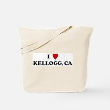 I Love KELLOGG Tote Bag
