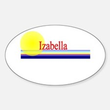 Izabella Oval Decal