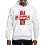 Men's Character Tile Hoodie Hooded Sweatshirt