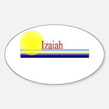 Izaiah Oval Decal