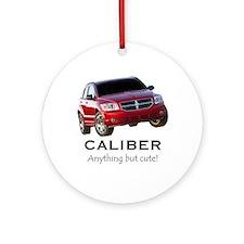 Cute Dodge caliber Ornament (Round)