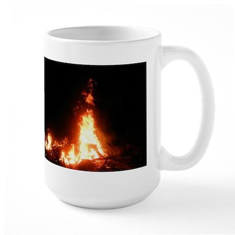 bonfire Large Mug