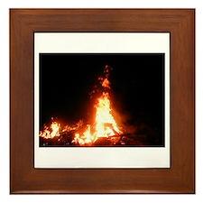 bonfire Framed Tile