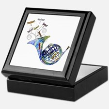 Wild French Horn Keepsake Box