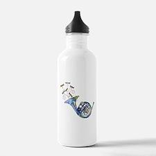 Wild French Horn Water Bottle