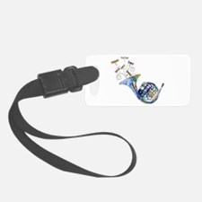 Wild French Horn Luggage Tag