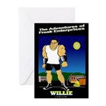 Willie Greeting Cards (Pk of 10)