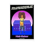 The Hair-Raiser Mini Poster Print