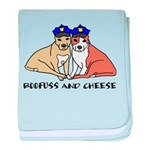 Boofuss and Cheese baby blanket