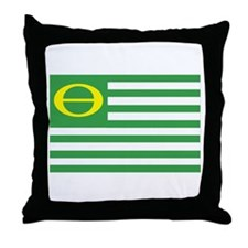 Ecology Flag Throw Pillow