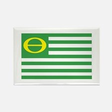 Ecology Flag Rectangle Magnet