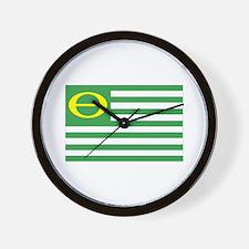 Ecology Flag Wall Clock