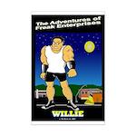 Willie Mini Poster Print