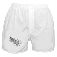 Flower Boxer Shorts