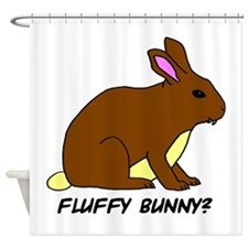 Fluffy Bunny? Shower Curtain