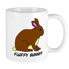 Fluffy Bunny? Small Mug