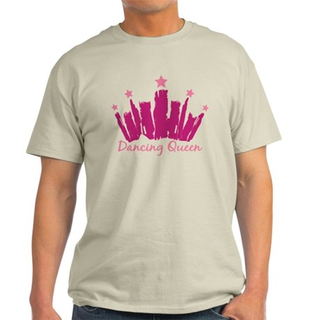 Dancing Queen Crown Light T-Shirt