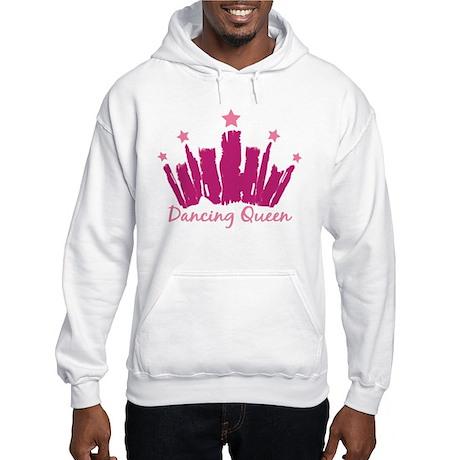 Dancing Queen Crown Hooded Sweatshirt