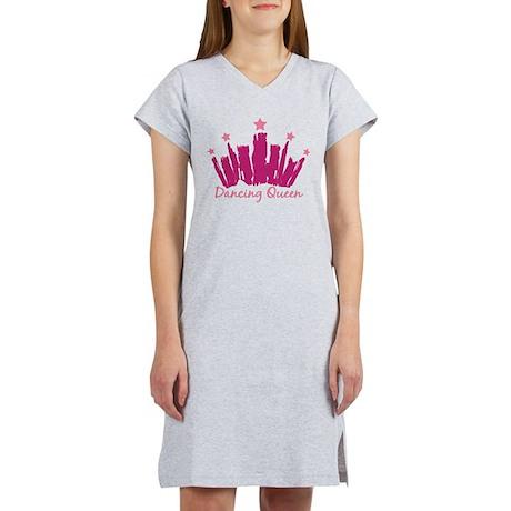 Dancing Queen Crown Women's Nightshirt
