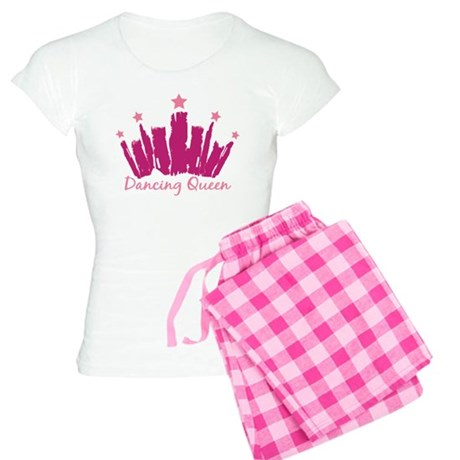 Dancing Queen Crown Women's Light Pajamas