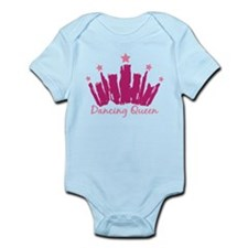 Dancing Queen Crown Infant Bodysuit