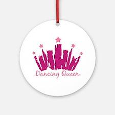Dancing Queen Crown Ornament (Round)