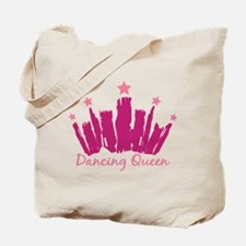 Dancing Queen Crown Tote Bag