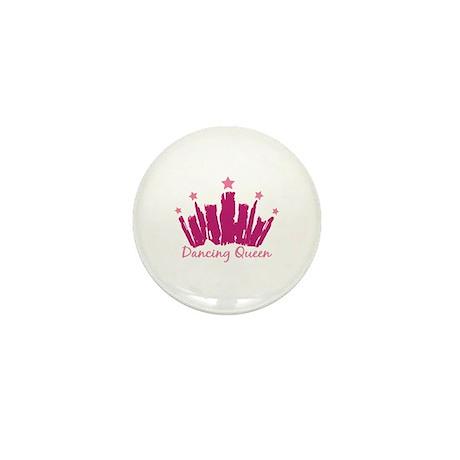 Dancing Queen Crown Mini Button (100 pack)