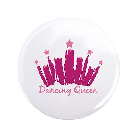 "Dancing Queen Crown 3.5"" Button (100 pack)"