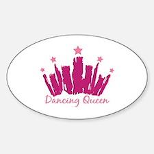 Dancing Queen Crown Decal
