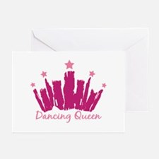 Dancing Queen Crown Greeting Cards (Pk of 20)