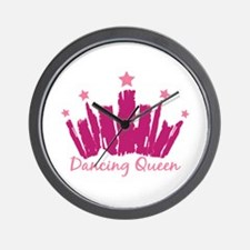Dancing Queen Crown Wall Clock
