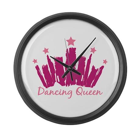 Dancing Queen Crown Large Wall Clock
