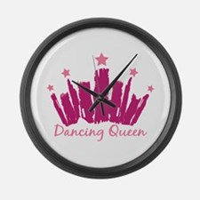 Dancing Queen Crown Large Wall Clock