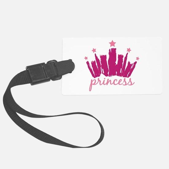 Princess Crown Luggage Tag