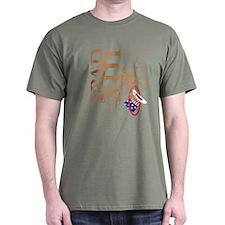 Spad Xiii Lafayette Escadrille T-Shirt